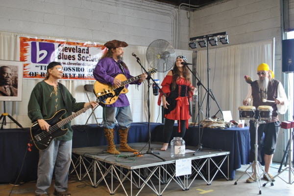 Pirate At Blues Society Open Mic Cuyahoga County Fair